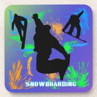 Snowboard - sistema del práctico de costa del corc posavaso