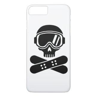 Snowboard skull goggles iPhone 8 plus/7 plus case