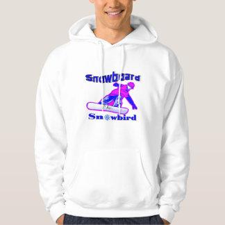 Snowboard Snowbird Hoodie