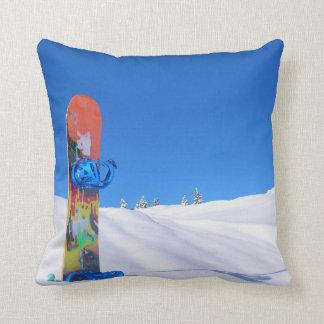 Snowboard Snowboarder Snowboarding Pillows