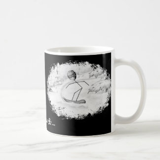 Snowboard Stick Person Mug