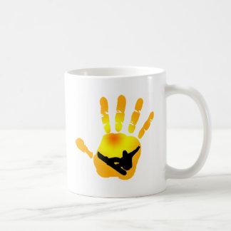 Snowboard Sun Vision Coffee Mug