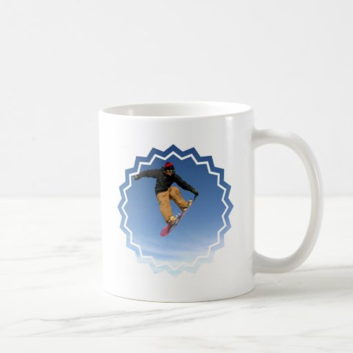Snowboard Tail Grab Coffee Mug