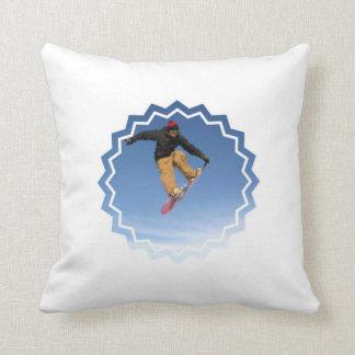 Snowboard Tail Grab Pillow