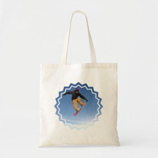 Snowboard Tail Grab Small Bag