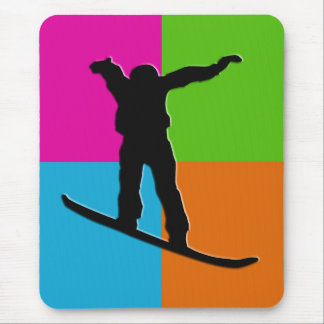 snowboard mouse pad