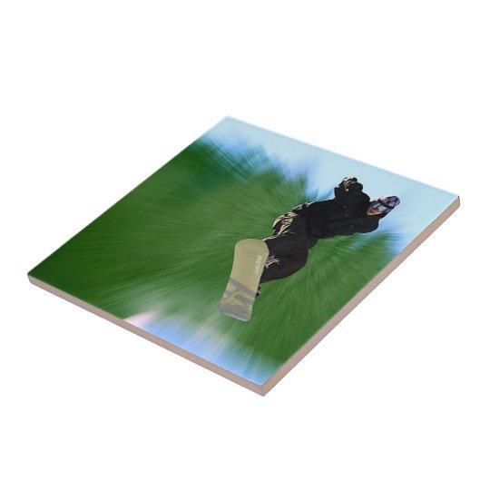 Snowboard Tile