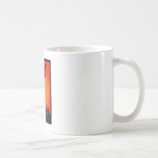 snowboard time zoned coffee mugs