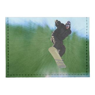 Snowboard Tyvek® Card Case Wallet