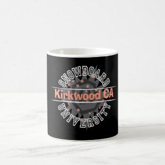 Snowboard University - Kirkwood CA Coffee Mugs