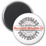 Snowboard University - Mammoth Mounain CA Fridge Magnets