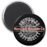Snowboard University - Mammoth Mounain CA Magnets