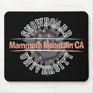 Snowboard University - Mammoth Mounain CA Mouse Pad