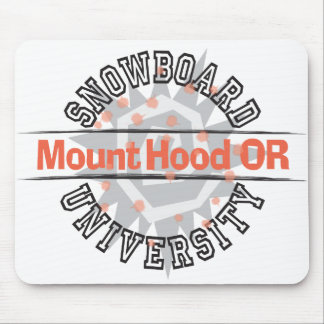 Snowboard University - Mount Hood OR Mouse Pad