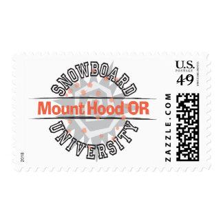 Snowboard University - Mount Hood OR Postage