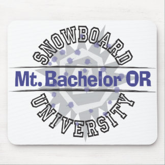 Snowboard University - Mt. Bachelor OR Mouse Pad