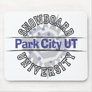 Snowboard University - Park City UT Mouse Pad