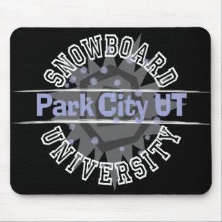 Snowboard University - Park City UT Mouse Pad