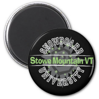 Snowboard University - Stowe Mountain VT Magnet