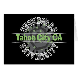 Snowboard University - Tahoe City CA Card