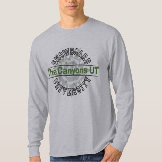 Snowboard University - The Canyons UT T-Shirt
