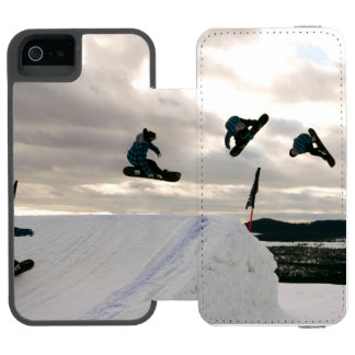 Snowboard Wallet Case For iPhone SE/5/5s