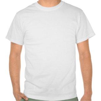 Snowboard Winter Sport Dog Blue Stripe T-Shirt shirt