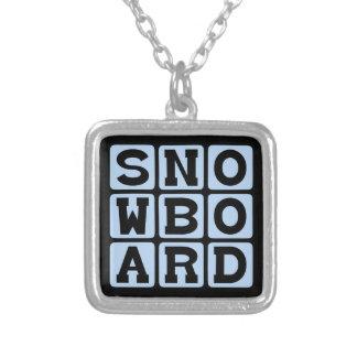 Snowboard, Winter Sport Pendants