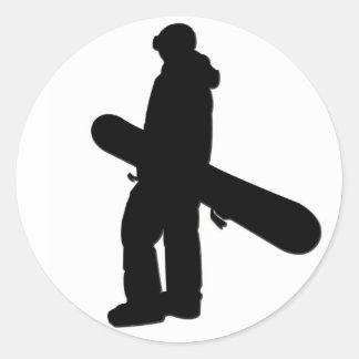 Snowboarder 2 Sticker