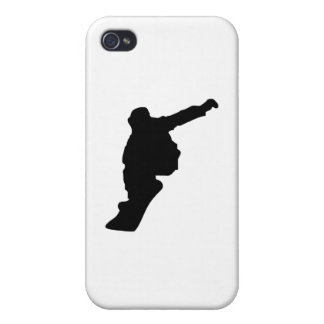 Snowboarder_3 iPhone 4 Carcasas
