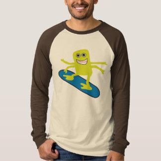 Snowboarder 4 Arm Monster T-Shirt