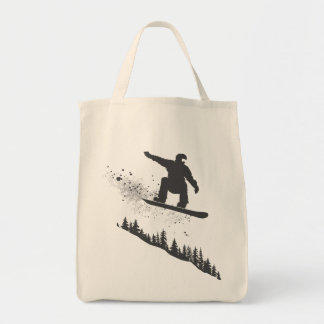 Snowboarder Canvas Bags
