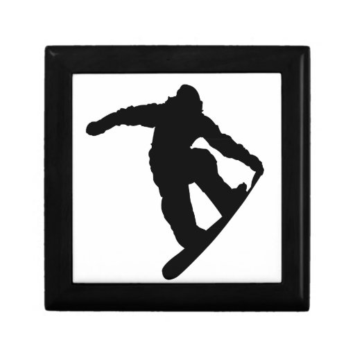 Snowboarder Caja De Regalo