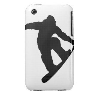 Snowboarder iPhone 3 Case-Mate Cases