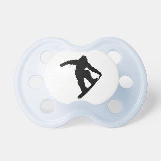 Snowboarder Chupete