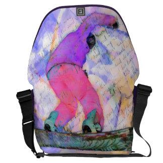 Snowboarder Courier Bag