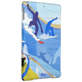 Snowboarder Cover For iPad Air