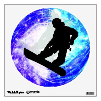 Snowboarder en la desorientación