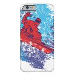 Snowboarder fresco funda de iPhone 6 barely there