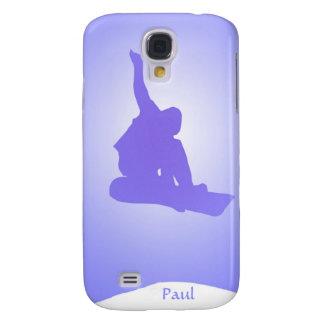 Snowboarder Galaxy S4 Case