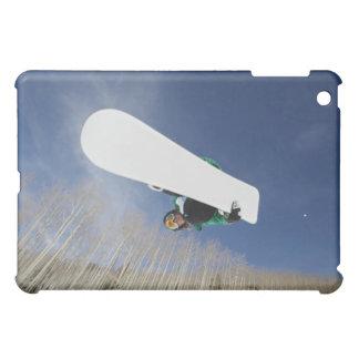 Snowboarder Getting Vert iPad Mini Cases