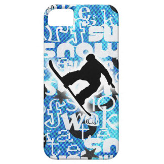 Snowboarder - Gone Boarding Gear iPhone 5 Cases