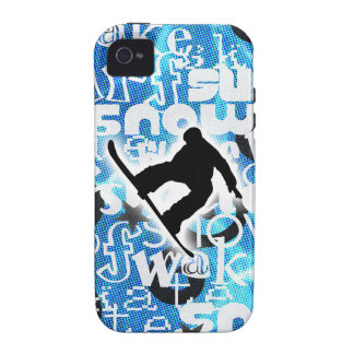 Snowboarder - Gone Boarding Gear Case-Mate iPhone 4 Cases