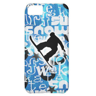 Snowboarder - Gone Boarding Gear iPhone 5C Cases