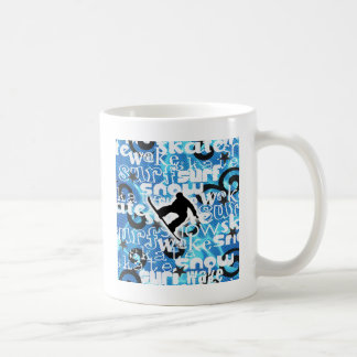 Snowboarder - Gone Boarding Gear Coffee Mug