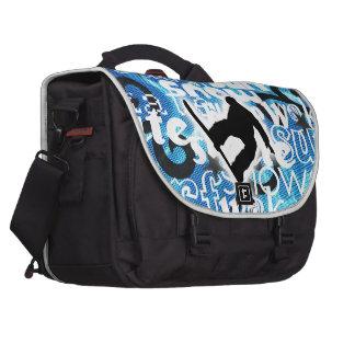 Snowboarder - Gone Boarding Gear Computer Bag