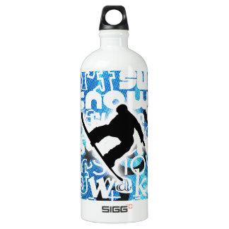 Snowboarder - ido a subir al engranaje