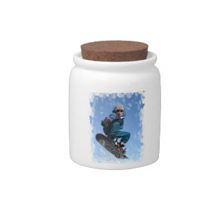 Snowboarder in the Snow Candy Jar