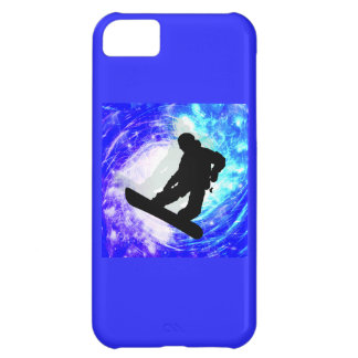 Snowboarder in Whiteout iPhone 5C Case