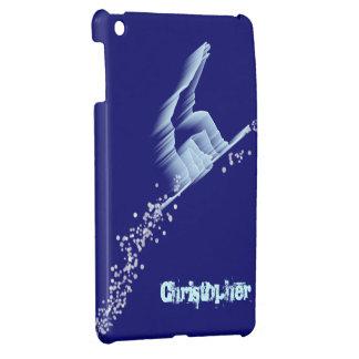 Snowboarder iPad MIni Case Template